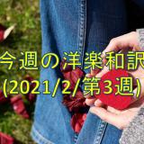 本家が和訳動画に本気になった?!?!& 今週の洋楽和訳(2021/2/17)